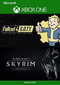 Skyrim Special Edition and Fallout G.O.T.Y Bundle Xbox One (UK)