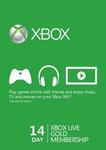 14 días de suscripción a Xbox Live Gold (Xbox One/360)
