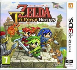 The Legend Of Zelda Tri Force Heroes 3DS
