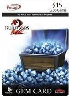 NCSOFT - Guild Wars 2 Gem Card $15