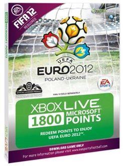 Xbox LIVE 1800 Microsoft Points - Euro 2012 Branded (Xbox 360)