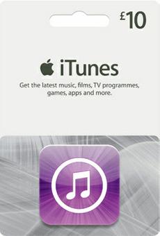 iTunes Gift Card - £10