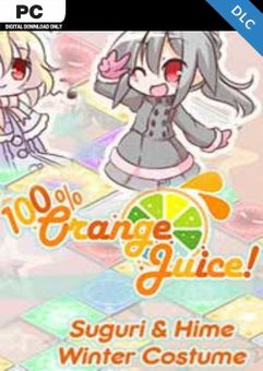 100% Orange Juice - Suguri & Hime Winter Costumes PC - DLC
