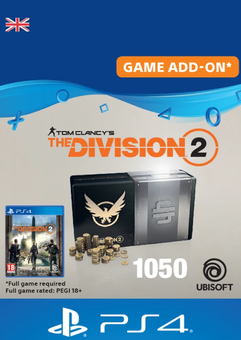 Tom Clancy's The Division 2 PS4 - 1050 Premium Credits Pack