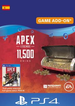 Apex Legends 11500 Coins PS4 (Spain)