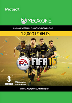 Fifa 16 - 12000 FUT Points (Xbox One)
