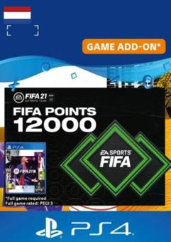 FIFA 21 Ultimate Team 12000 Points Pack PS4/PS5 (Netherlands)