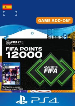 FIFA 21 Ultimate Team 12000 Points Pack PS4/PS5 (Spain)