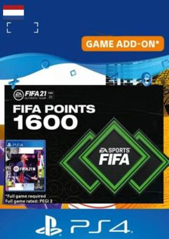 FIFA 21 Ultimate Team 1600 Points Pack PS4/PS5 (Netherlands)