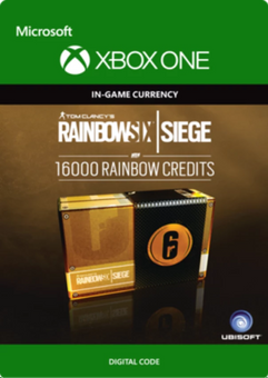 Tom Clancy's Rainbow Six Siege 16000 Credits Pack Xbox One