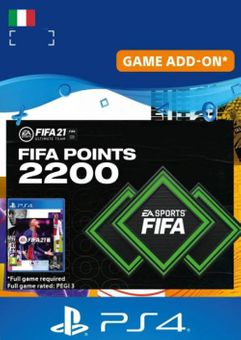 FIFA 21 Ultimate Team 2200 Points Pack PS4/PS5 (Italy)