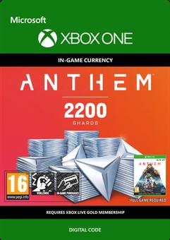 Anthem 2200 Shards Pack Xbox One
