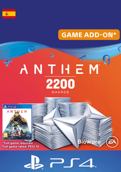 Anthem 2200 Shards PS4 (Spain)