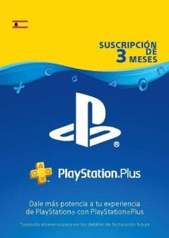 PlayStation Plus (PS+) - 3 Month Subscription (Spain)