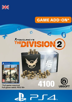 Tom Clancy's The Division 2 PS4 - 4100 Premium Credits Pack