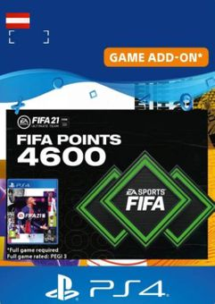 FIFA 21 Ultimate Team 4600 Points Pack PS4/PS5 (Austria)