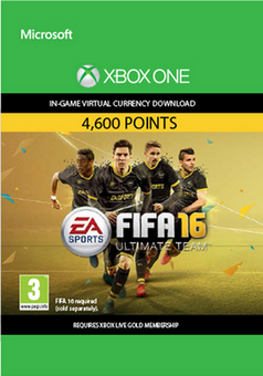 Fifa 16 - 4600 FUT Points (Xbox One)