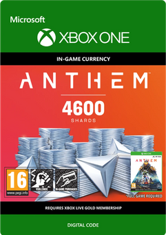 Anthem 4600 Shards Pack Xbox One
