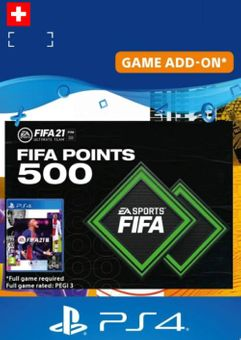 FIFA 21 Ultimate Team 500 Points Pack PS4/PS5 (Switzerland)