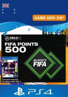FIFA 21 Ultimate Team 500 Points Pack PS4/PS5 (UK)