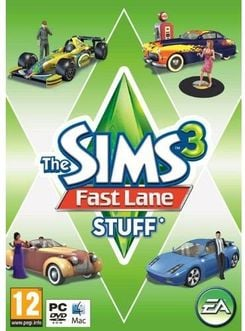 The Sims 3: Fast Lane Stuff (PC/Mac)