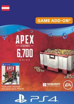 Apex Legends 6700 Coins PS4 (Austria)