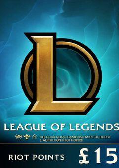 League of Legends 2330 Riot Points (EU - West)