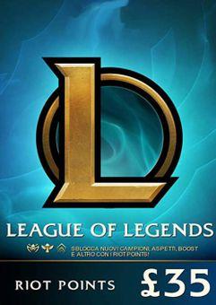 League of Legends 5480 Riot Points (EU - West)
