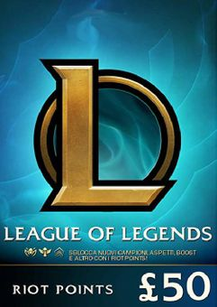 League of Legends 7920 Riot Points (EU - West)