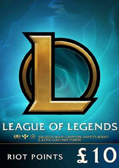 League of Legends 1520 Riot Points (EU - West)