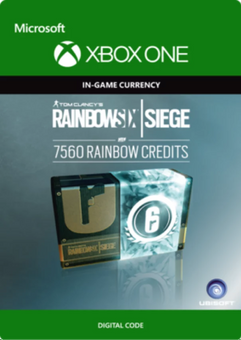 Tom Clancy's Rainbow Six Siege 7560 Credits Pack Xbox One