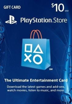 $10 PlayStation Store Gift Card - PS3/ PS4/ PS Vita Digital Code
