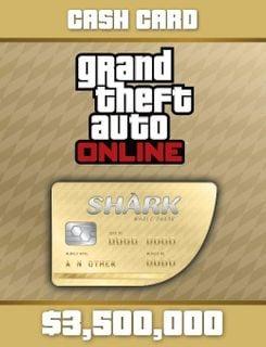 Grand Theft Auto Online: Whale Shark Cash Card PC Online Code