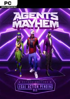 Agents of Mayhem - Legal Action Pending PC - DLC