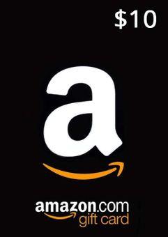 Amazon 10 USD Gift Card