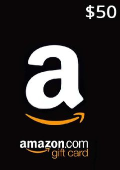 Amazon 50 USD Gift Card