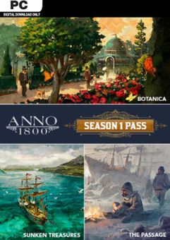Anno 1800 Year 1 Pass PC - DLC (EU)
