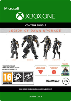 Anthem Legion of Dawn Upgrade Xbox One