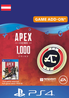 Apex Legends 1000 Coins PS4 (Austria)