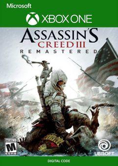 Assassin's Creed III  Remastered Xbox One (UK)