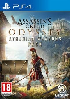 Assassins Creed Odyssey Athenian Weapons Pack DLC PS4