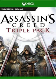 Assassin's Creed Triple Pack: Black Flag, Unity, Syndicate Xbox One (UK)