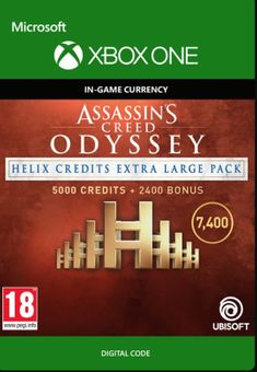 Assassins Creed Odyssey Helix Credits XL Pack Xbox One