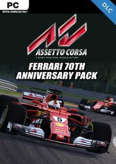 Assetto Corsa - Ferrari 70th Anniversary Pack PC - DLC