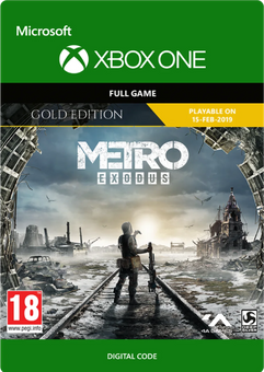 Metro Exodus Gold Xbox One
