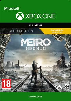 Metro Exodus Gold Xbox One