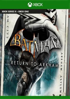 Batman Return to Arkham Xbox One (UK)