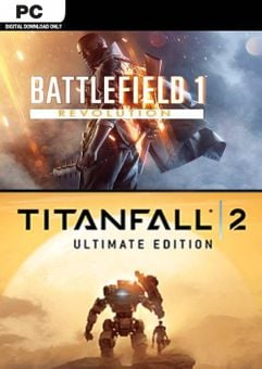 Battlefield 1 Revolution and Titanfall 2 Ultimate Edition Bundle PC