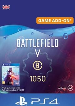 Battlefield V 5 - Battlefield Currency 1050 PS4 (UK)