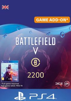 Battlefield V 5 - Battlefield Currency 2200 PS4 (UK)